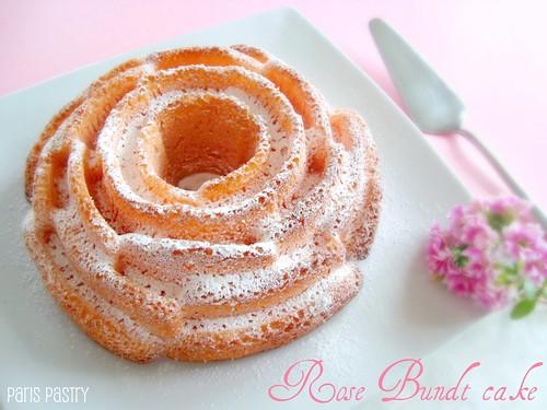 Rose Bundt Cake