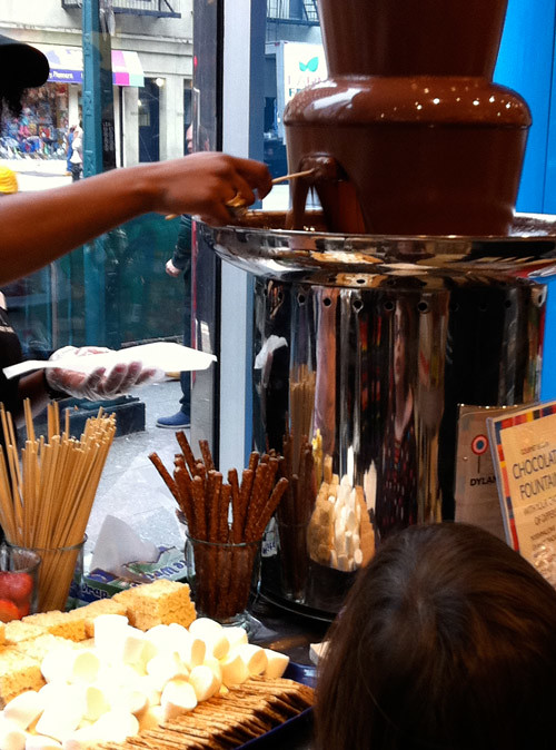 break-chocolate-fountain