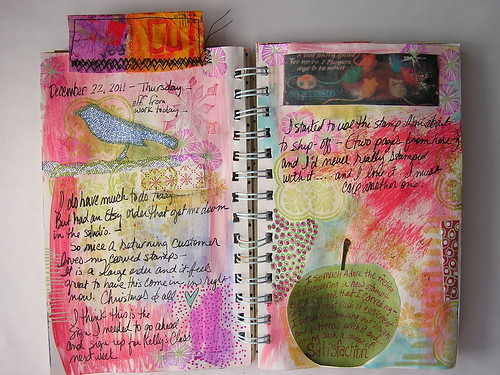 Art Journal page-Apple