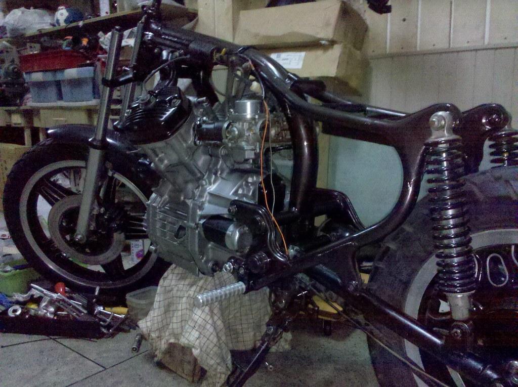 my honda gl400 the most beautiful bike in vietnam rh cx500forum com Honda XR 400 Honda XR 400