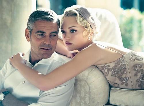 Gemma-Ward-George-Clooney