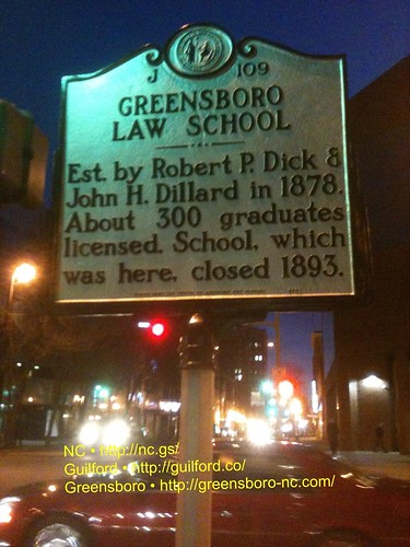 GREENSBORO LAW SCHOOL by Greensboro NC