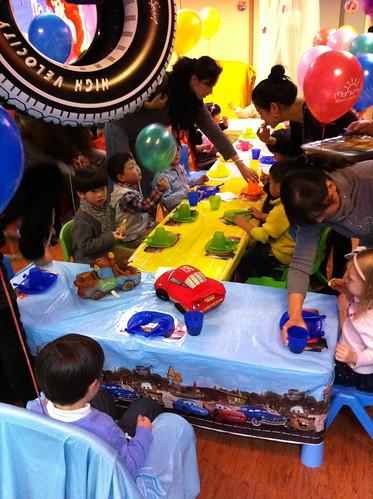 Scott's 4 year birthday party