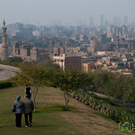 Cairo City View from Al-Azhar Park