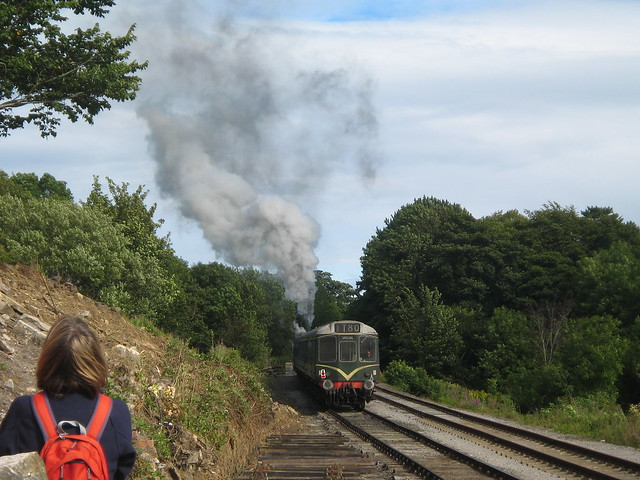 Wensleydale Railway at Redmire Station
