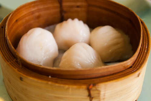 Steamed Shrimp Dumplings with Bamboo Shoot at Regal 16 Chinese Restaurant
