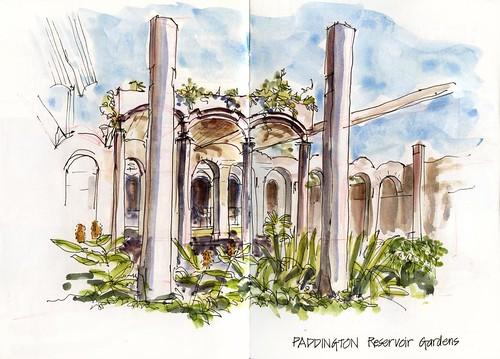 Summer! J07SA_03 Paddington Reservior Gardens 1