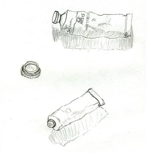 ink pencil sketch
