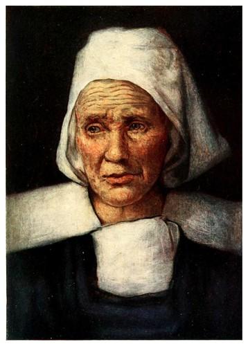 010-La vieja madre Perót en Vitré-Brittany 1912- Mortimer y Dorothy Mempes
