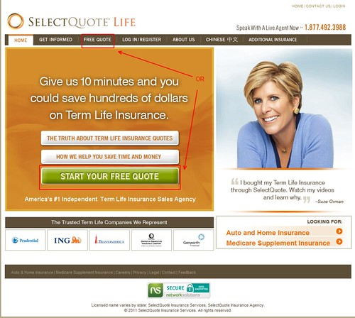 select quote life insurance reviews