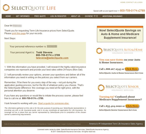 Select Quote Term Life Insurance Entrancing Select Quote Life Insurance Reviews
