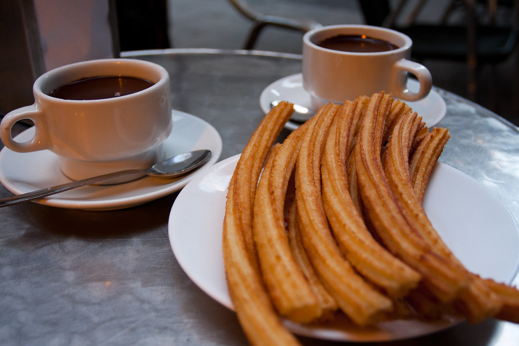 Churros de Madri