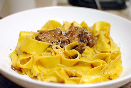 6682923157 a6e9b4dfd6 Pappardelle with Oxtail Ragu