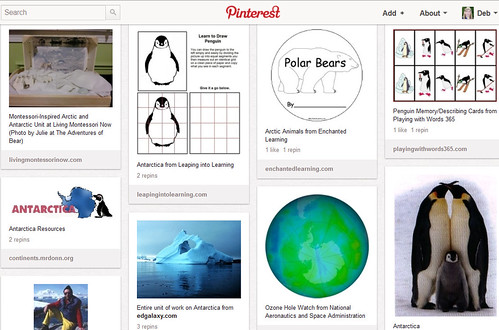 Pinterest - Kids' Winter Activities - Arctic-Antarctic