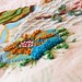 Patchwork Chenille & Embroidery Quilt