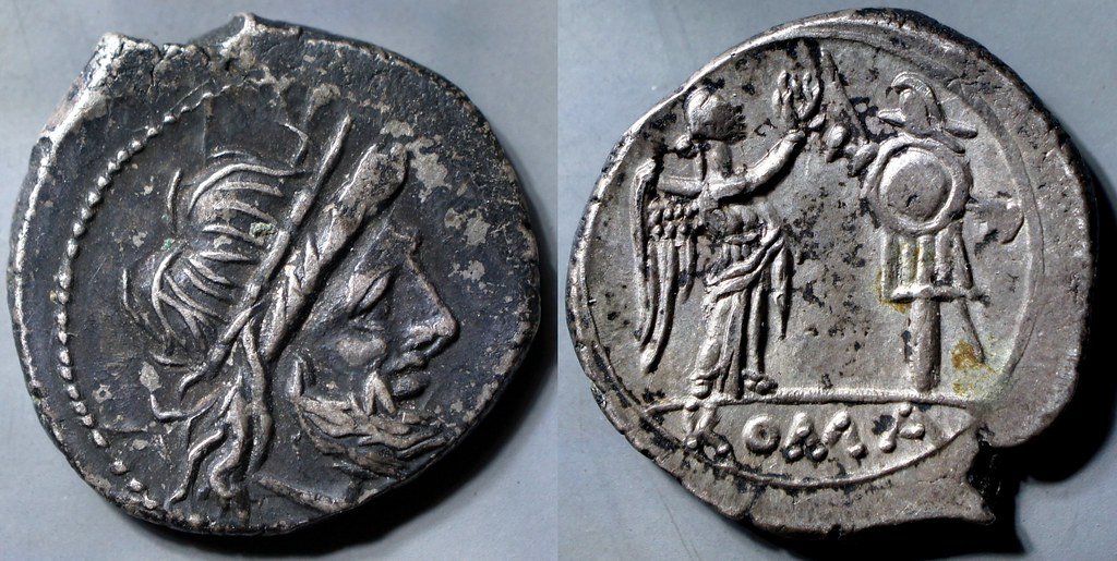 166/1 Victoriatus Anonymous Jupiter Victory trophy #11114-25