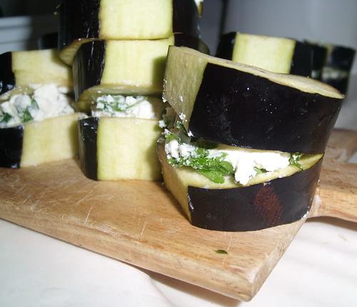 peynirli patlıcan kızartma
