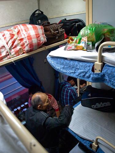 El transporte en china viajar en tren trajinando por el for Camas chinas baratas