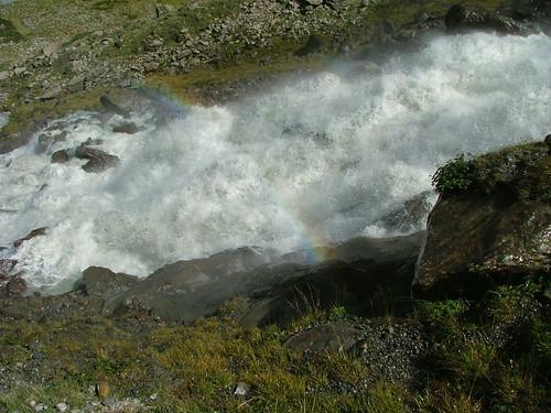 Sulzenau-Wasserfall-Regenbogen