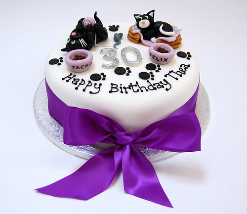 Playful Cats Cake Beautiful Birthday Cakes