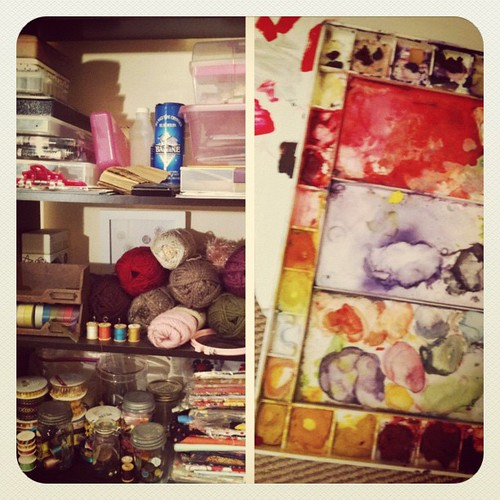 Playing in my studio = #happiness #janphotoaday #day15