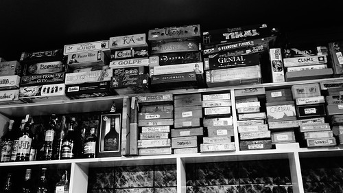 My favourite boardgame bar B/W | by Littlemad