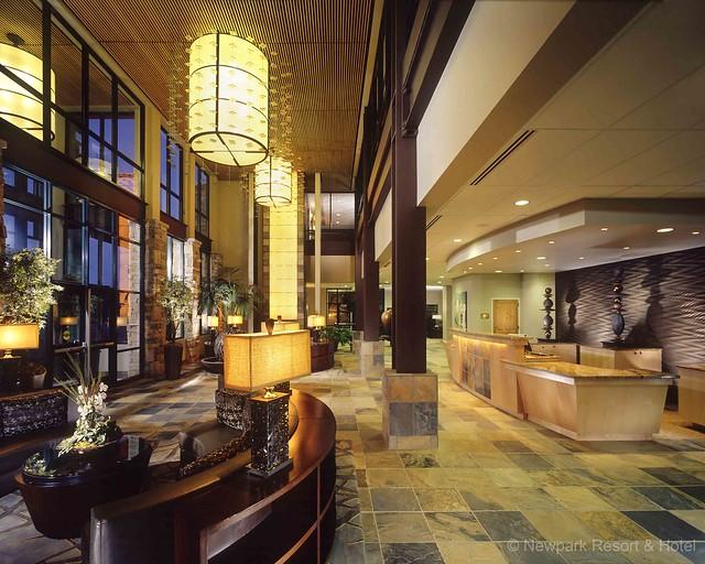 Newpark Hotel Lobby