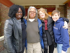 Barbara Jones, Gloria Lowe, Krista Tippett, and Barbara Stachowski.