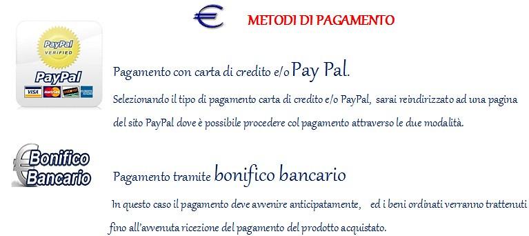 Metodi di pagamento1