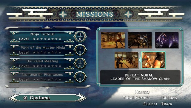 Ninja Gaiden Sigma Plus Missions