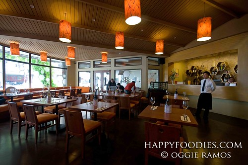 The interior of Nectar Restaurant
