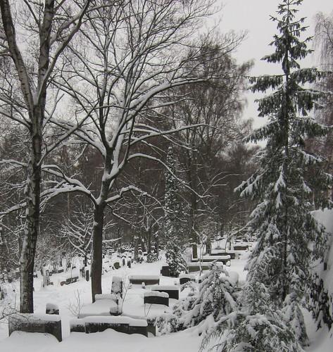 Hietalahti Cemetery, Helsinki by Anna Amnell