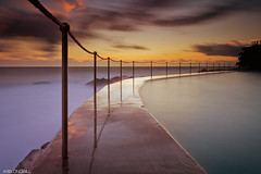 Early morning at Bronte Pool
