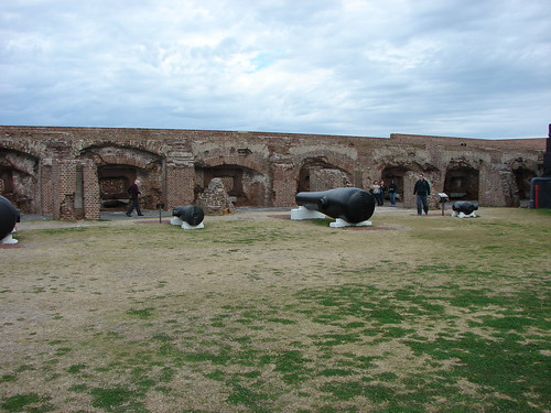 Cannon and walls