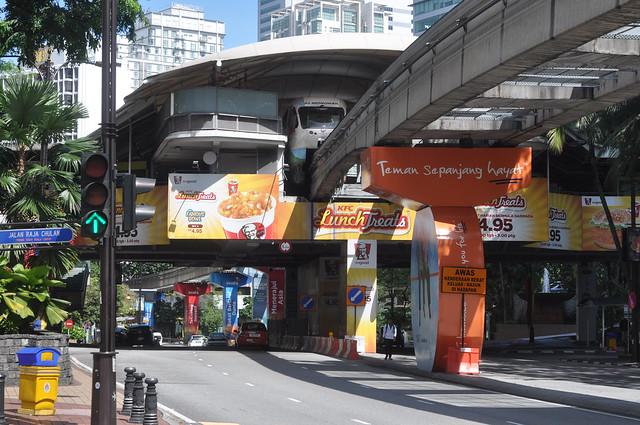 Monorail System in Kuala Lumpur