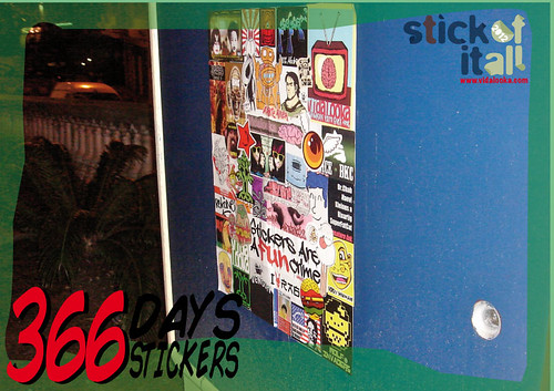 366 Days - 366 Stickers - Enero - January -  Lo prometido es deuda....aquí está el resultado by Vidalooka - STICK OF IT ALL VOL.3 -