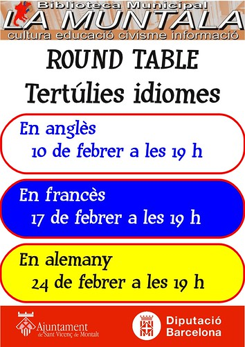 Round table febrer by bibliotecalamuntala