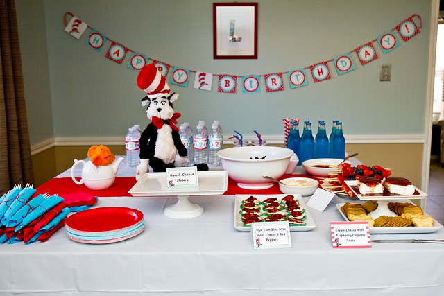 Dr Seusss Cat In The Hat Birthday Party