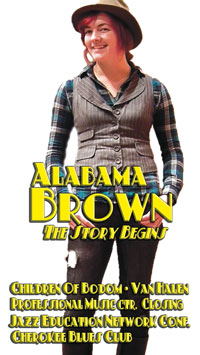 Alabama Brown, Louisville Music News