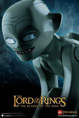 LOTR Movie Poster - Gollum