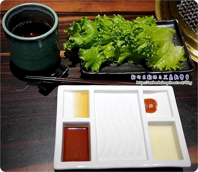 5 沾醬與茶水