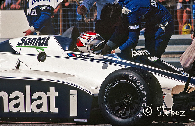 Nelson Piquet - Brabham BT50 BMW 1.5 L4T