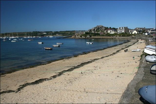 Town Beach, Hugh Town, St Marys, Isles of Scilly