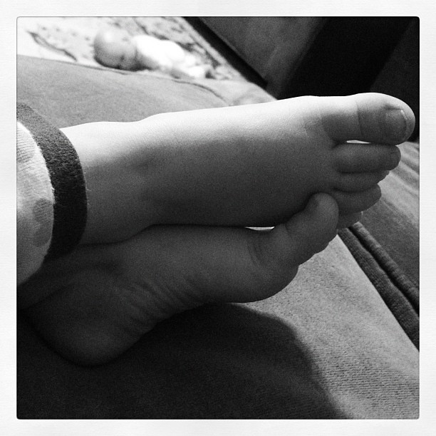 31/366 toddler feet