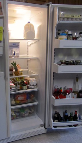 Fridge, Post Pantry Challenge