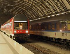 Dresden Hbf - S-Bahn Auferstanden aus Ruinen