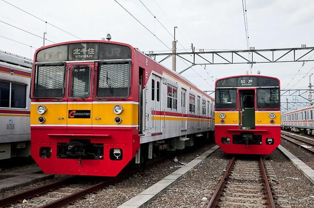 KCJ Seri203 Mato52F dan 51F - 203系 マト52と51編成