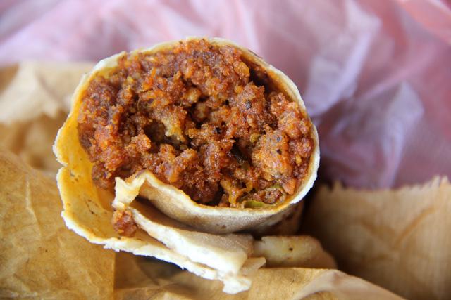 Vegetarian Chorizo in Kandy