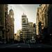 Gran Via by David Martin Gomez
