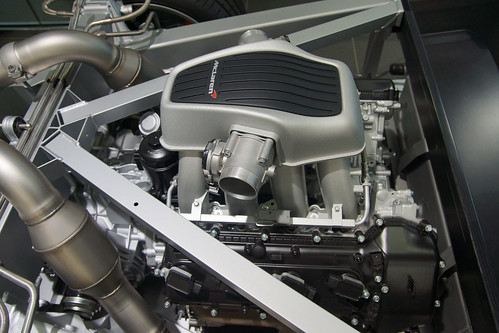 3.8L V8 engine of McLaren MP4-12C